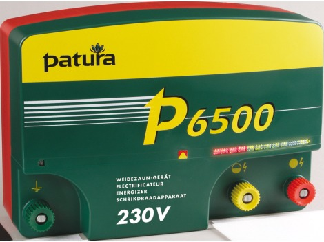 P6500 - Patura multi-function energiser with MaxiPuls technology