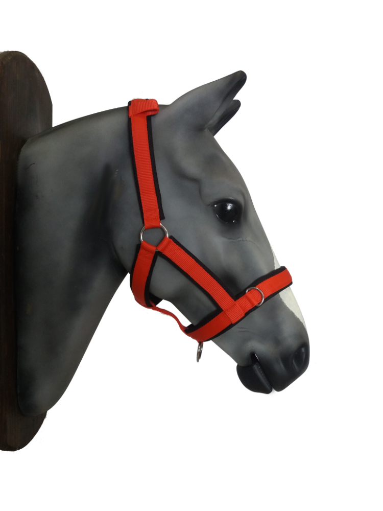 Breathable soft horse halter- no touch