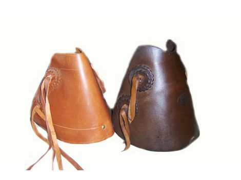 Western - Australian leather stirrups