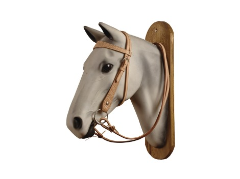 Pool's Western leather bridle