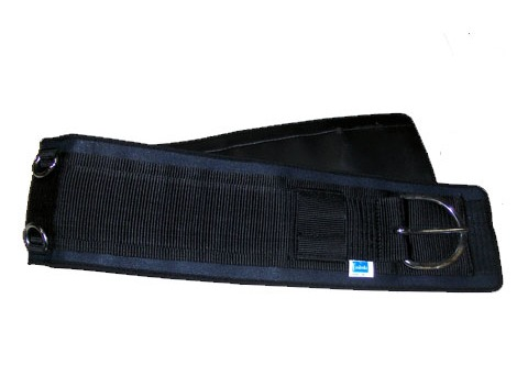 Western synthetic saddle girth with neopren