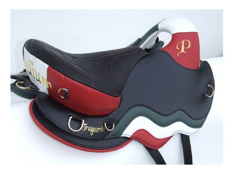 Podium Saddle - Traguardo Flag - Available on order!