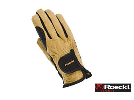 Roeckl suede riding gloves