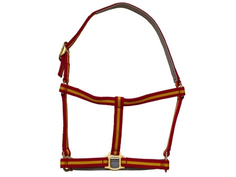 Spanish Halter Marjoman with leather reinforcements