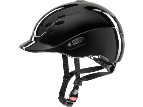 Uvex Onyxx Shiny - Riding helmet for children and teenagers