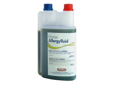 Allergyfluid - Liquid Supplement for horses with allergies