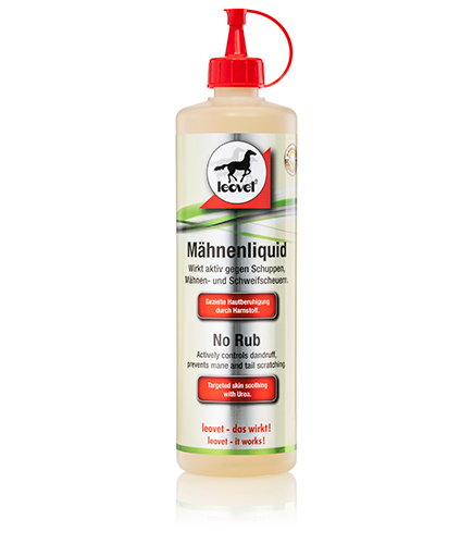 No Rub - Effective against dandruff and itchy manes and tails.