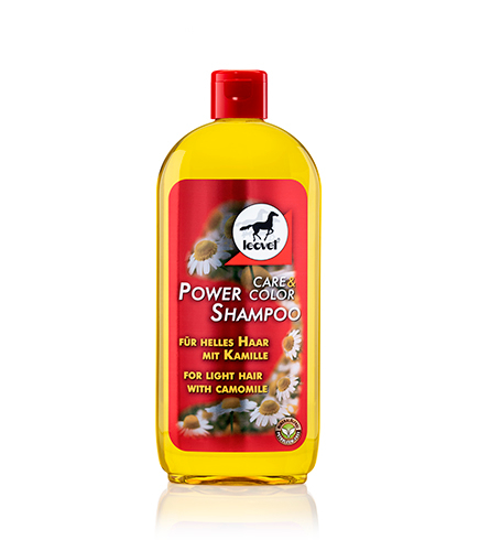 Power Shampoo Camomile Roman camomile brightens naturally, giving pale hair a lushly gleaming colour reflection