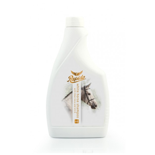 White Horse Shampoo 500ml - with aloe vera & vitamine B, removes dirt and revives white colour of the horse.